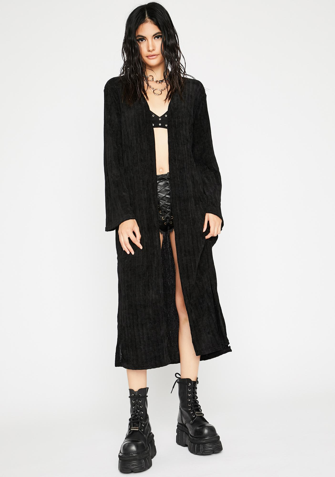 Troubled Tempo Corduroy Duster