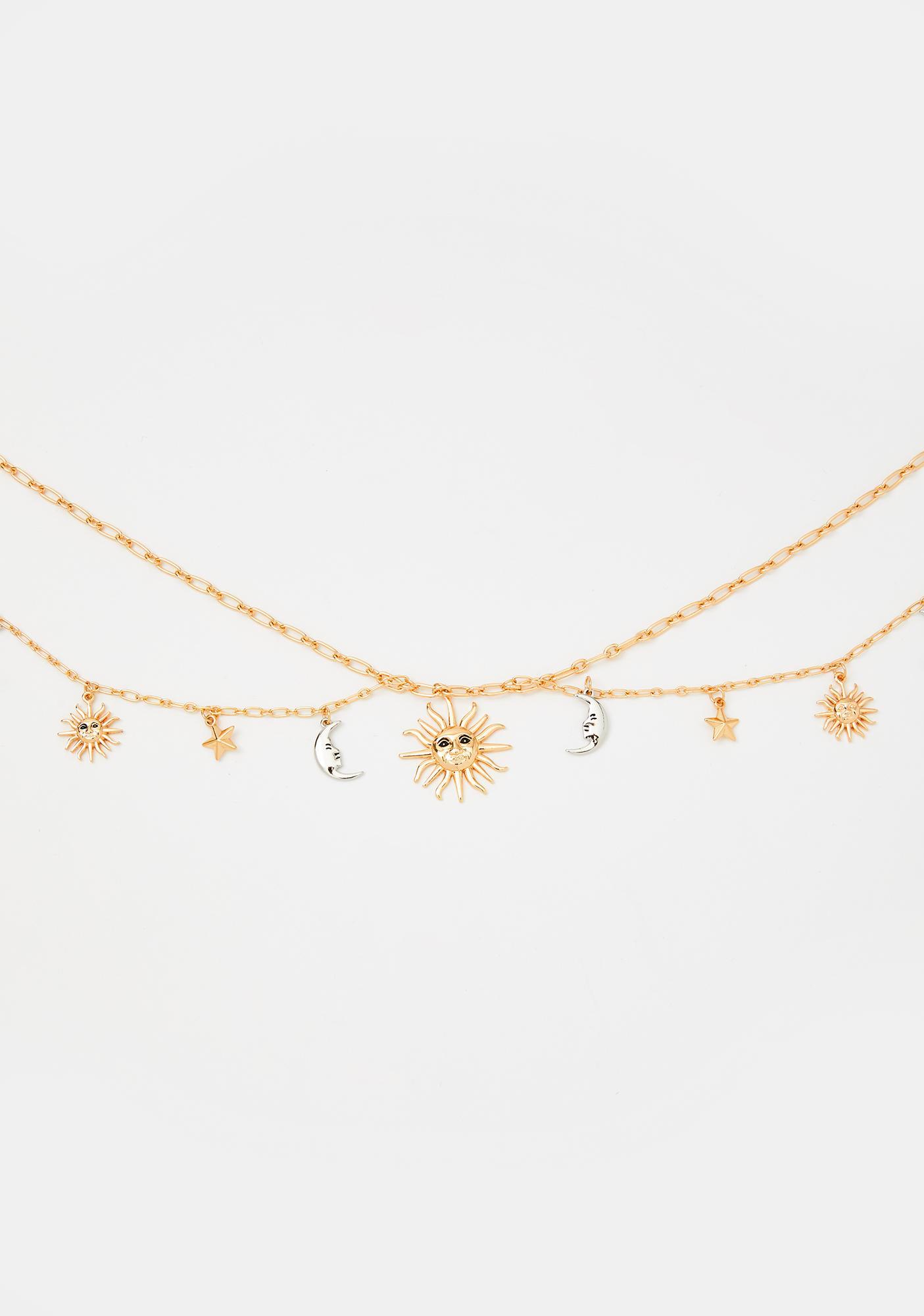 Gold Plaited Ladies Waist Chain Charm Fashion Belt 87