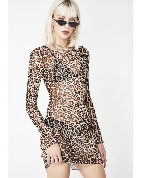Leopard Aarya Dress