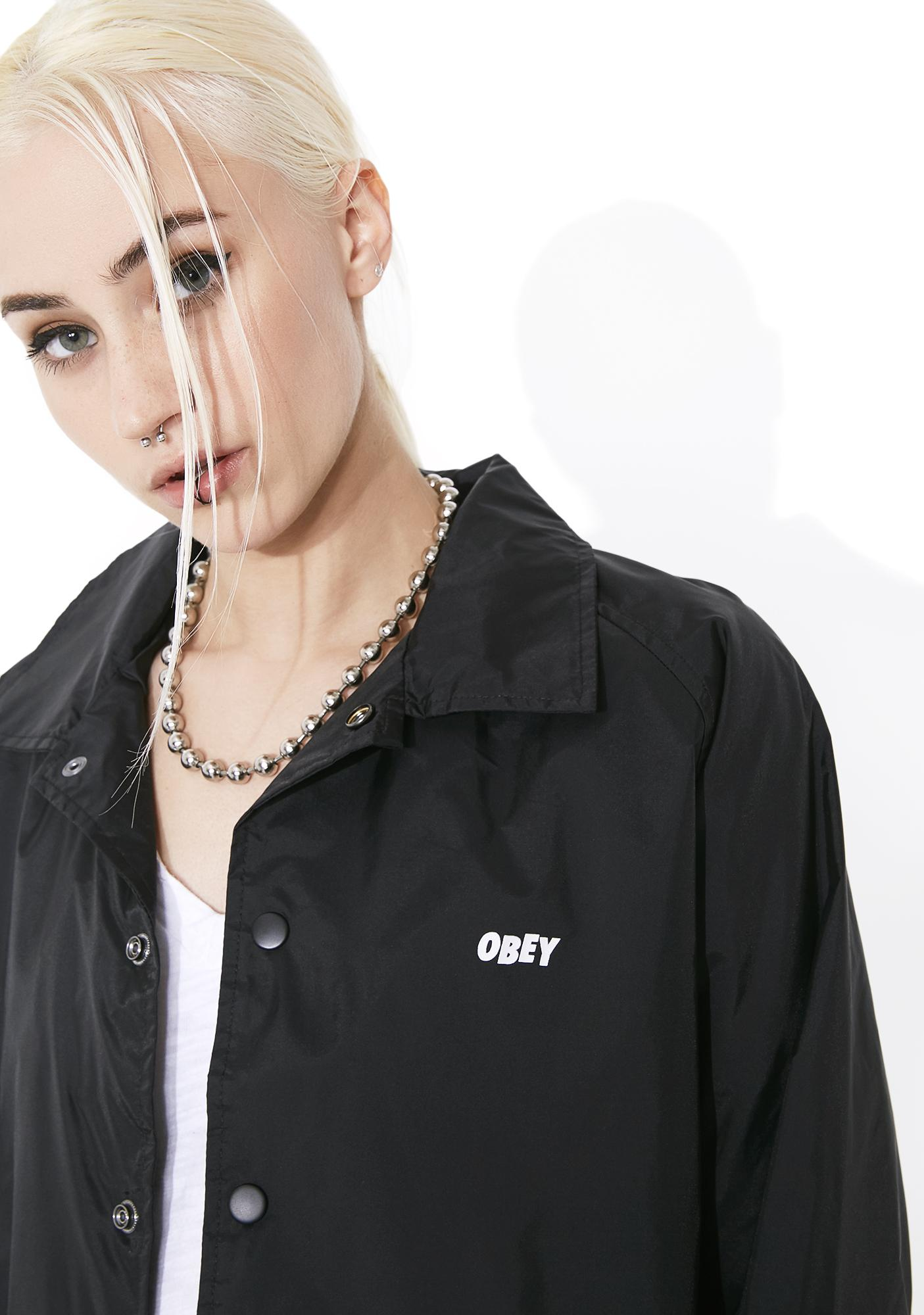 Obey The Creeper Windbreaker