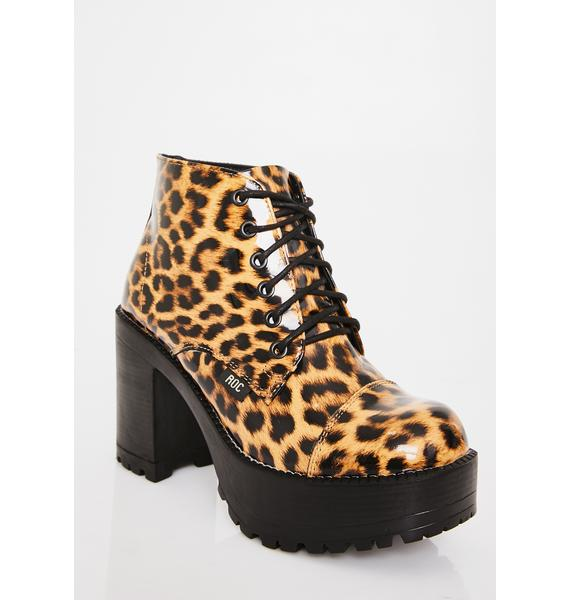 ROC Boots Australia Fierce Pampas Ankle Boots