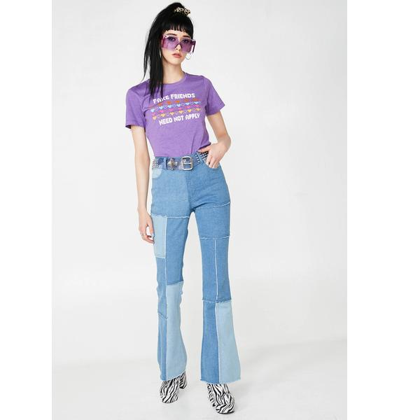 Top Knot Goods Fake Friends Graphic Tee