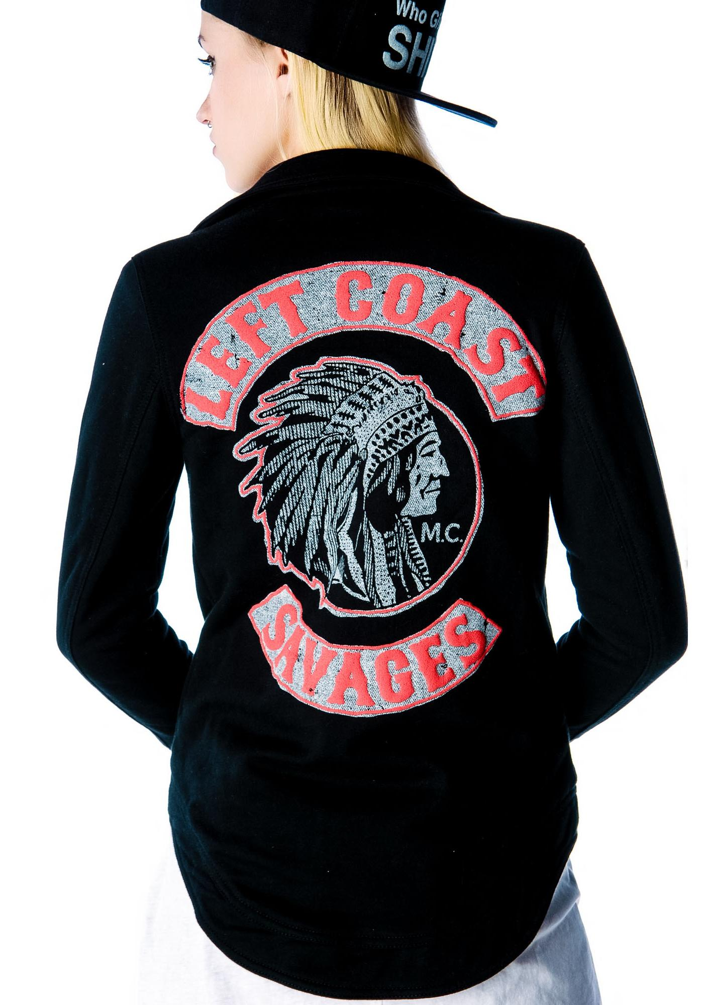 Chaser Left Coast Savages Jacket