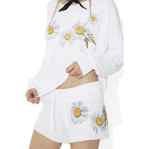 Wildfox Couture Fresh As A Daisy Cutie Shorts