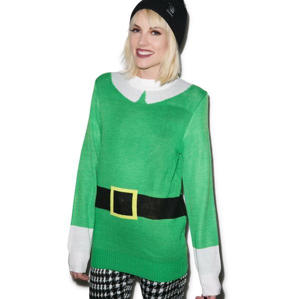 Tipsy Elves Elf Sweater