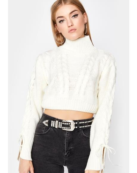 Purely Read To Filth Turtleneck Sweater