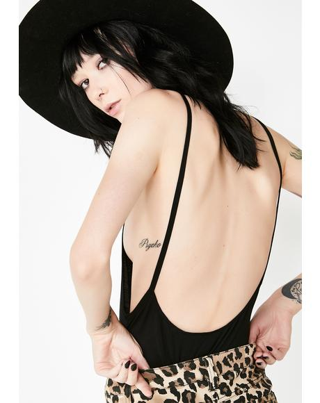 Miss Behave Plunge Bodysuit