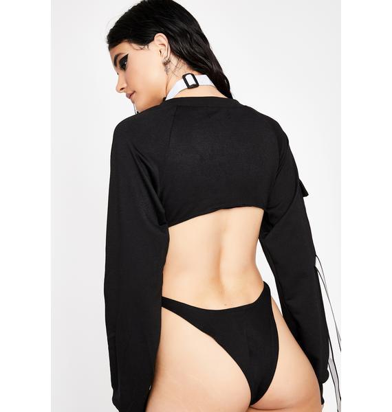 Acidic Glare Cut Out Bodysuit