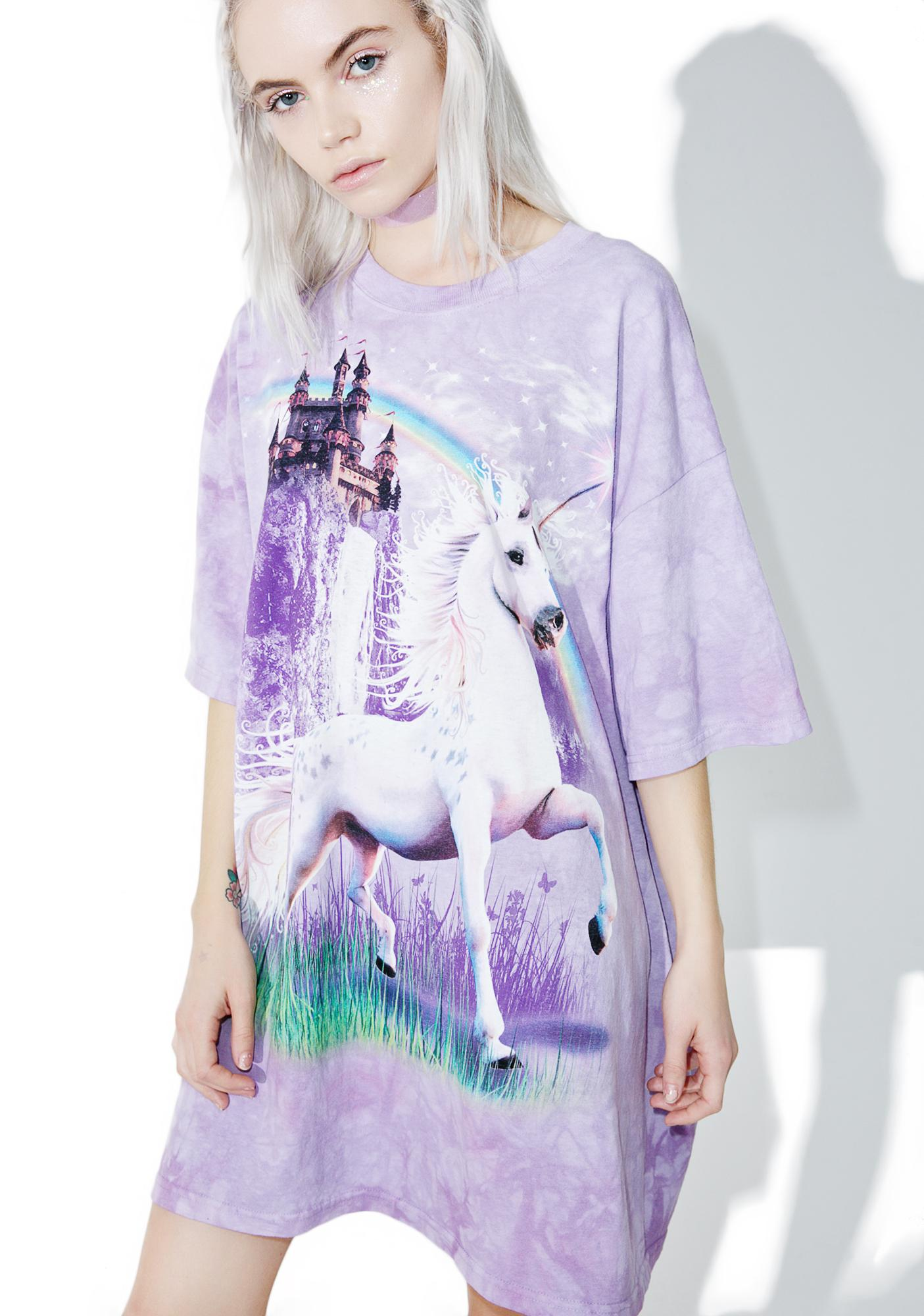 Unicorn Castle Tee