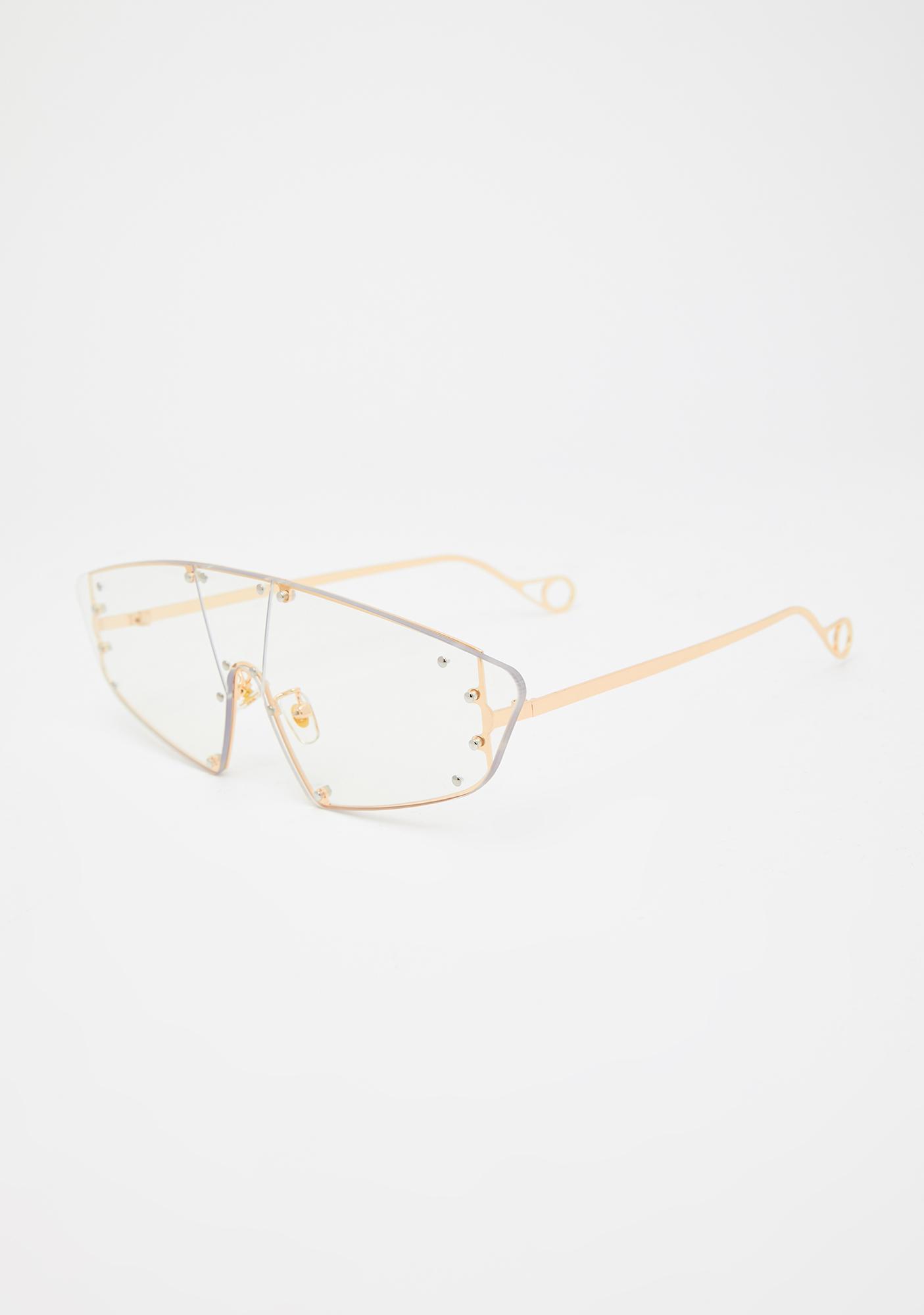 Hard To Catch Aviator Sunglasses