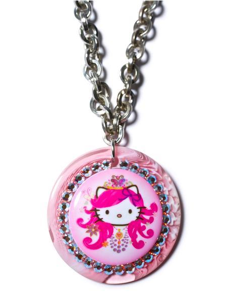 Hello Princess Chain Necklace