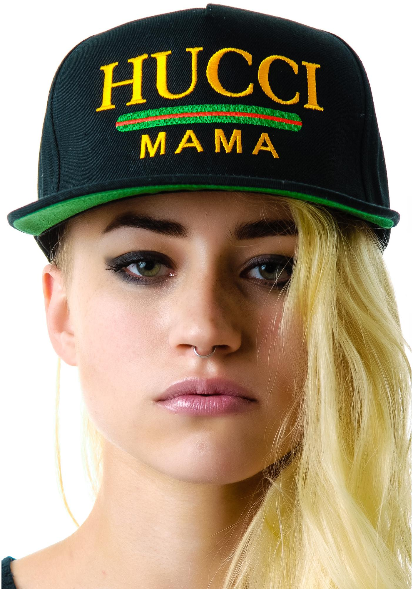 Petals and Peacocks Hucci Mama Snapback
