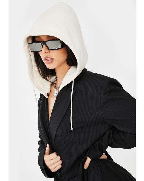 Paparazzi Plz Hooded Blazer