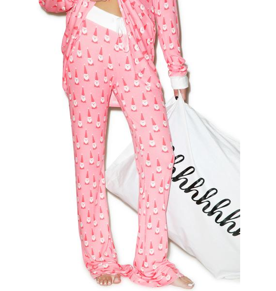 Wildfox Couture Santa Gnomes Polar Pajama Set