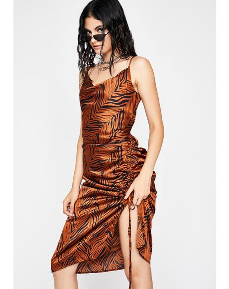 Fierce Flex Midi Dress