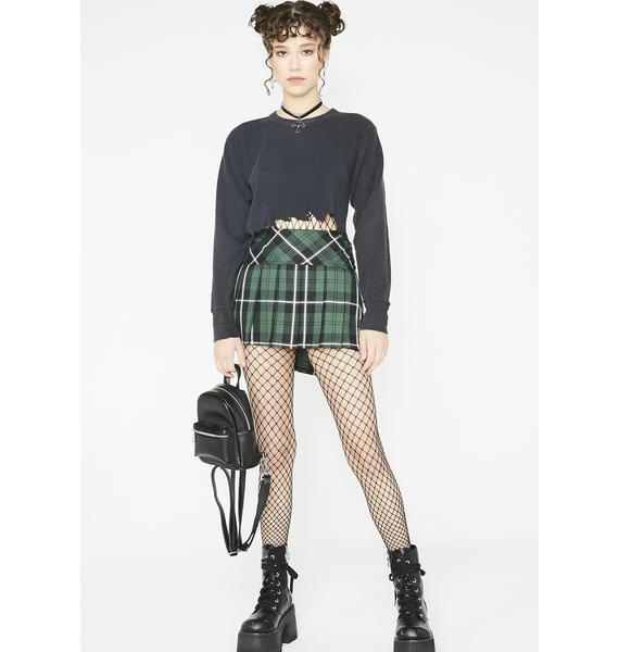 Tripp NYC Kush Pleated Mini Skirt