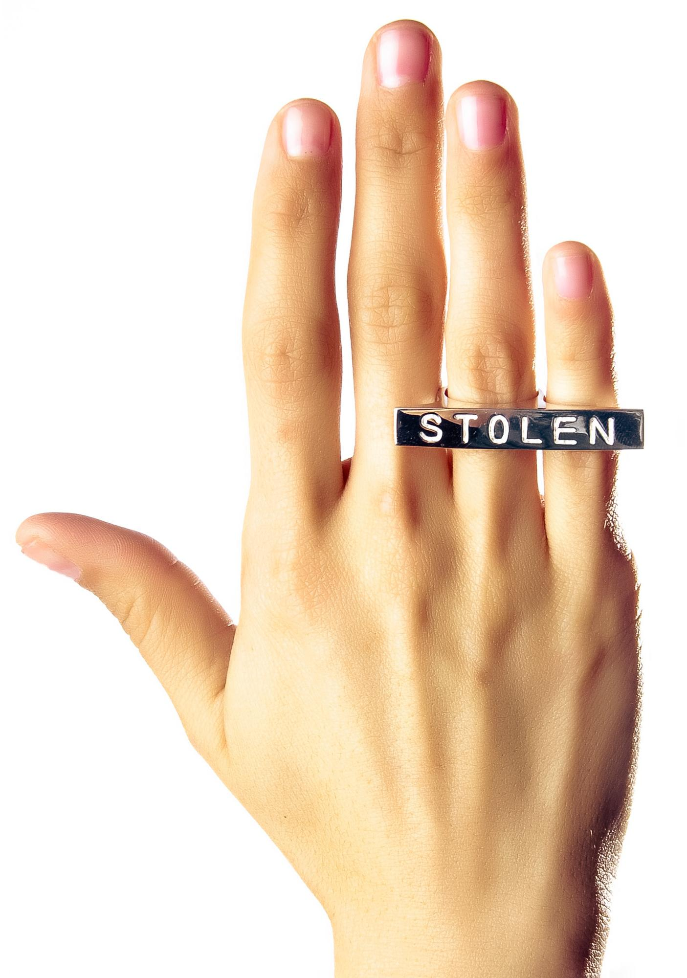 Stolen Girlfriends Club Plank Ring