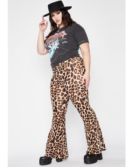 Feisty Beast Of Burden Leopard Flares