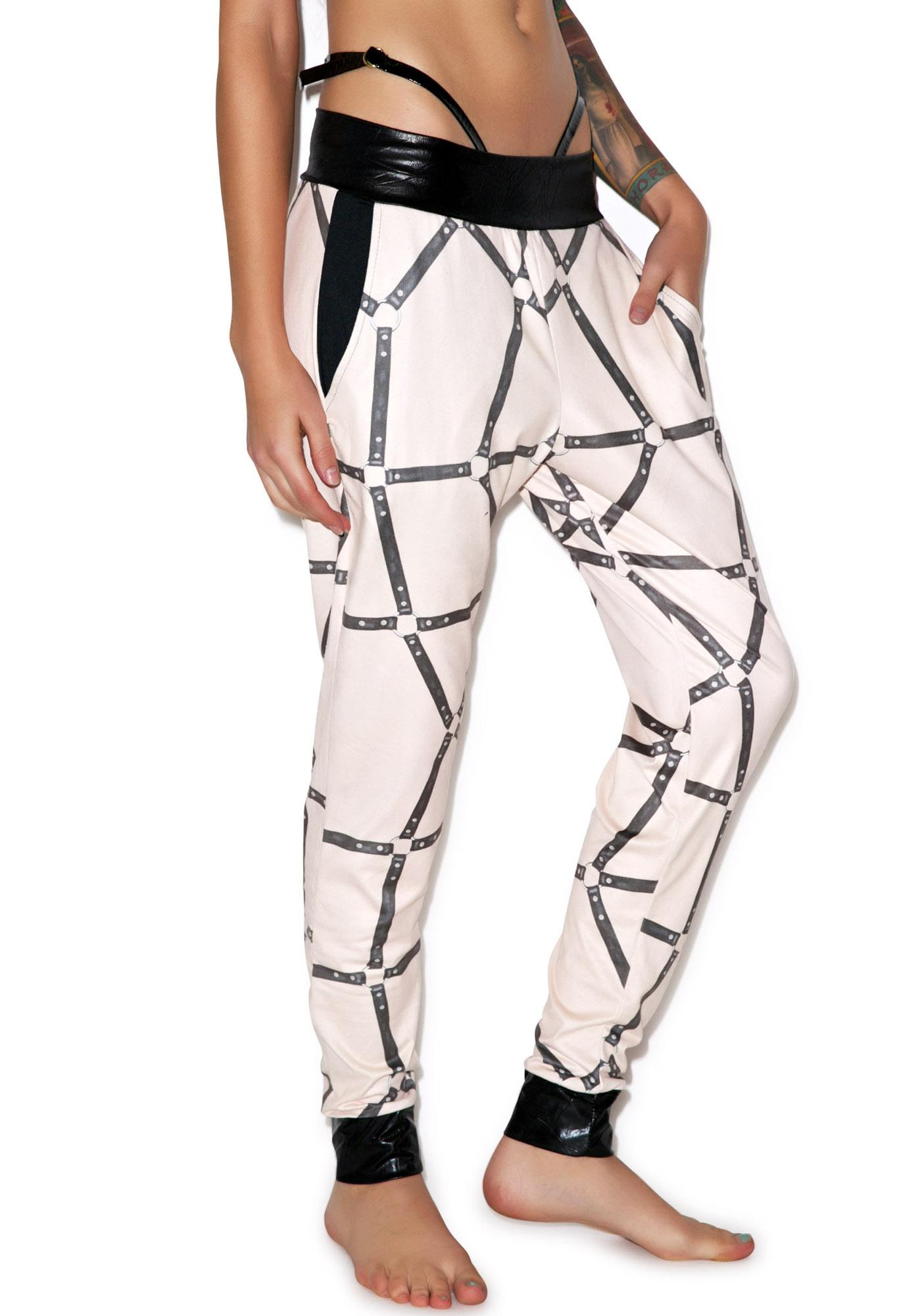 Private Arts Boy Toy Suede Pant