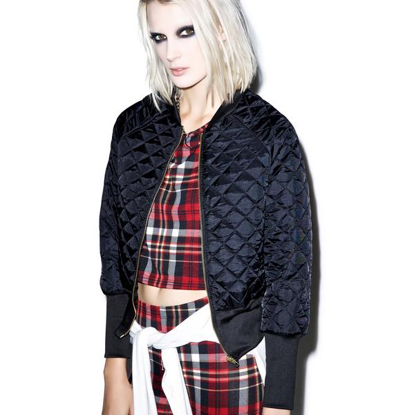 Sweet n' Tender Hooligan Quilted Bomber