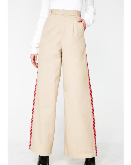 Wide Leg Cargo Pants