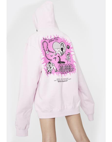 Pink Lovingly Hoodie