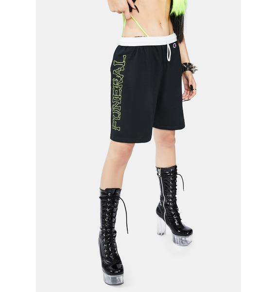 Funeral Funeral Logo Gym Shorts