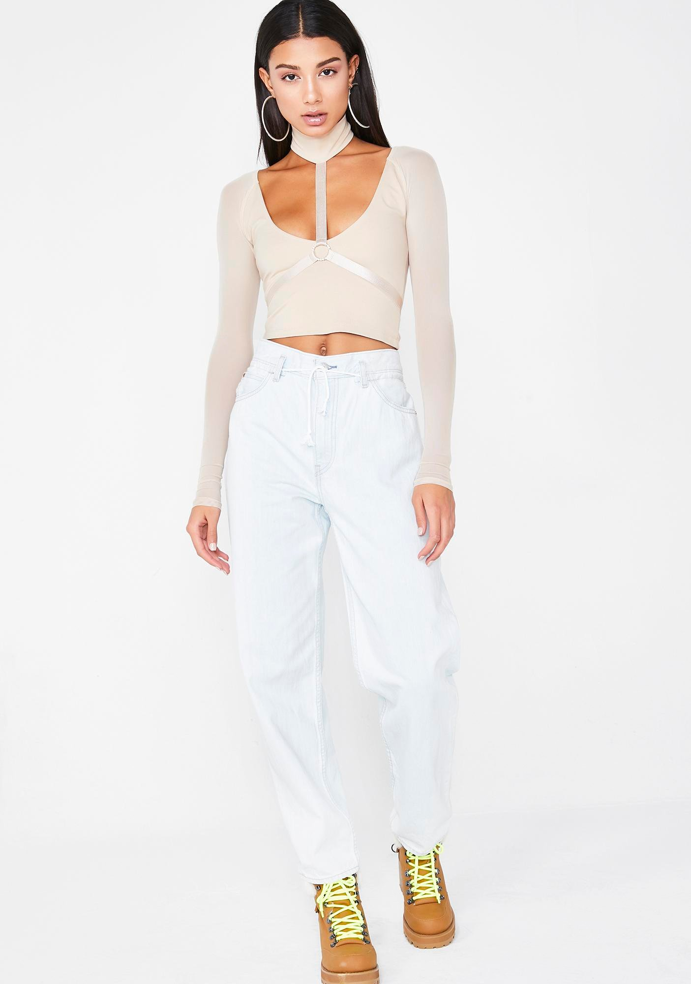 Poster Grl Body Party Harness Top