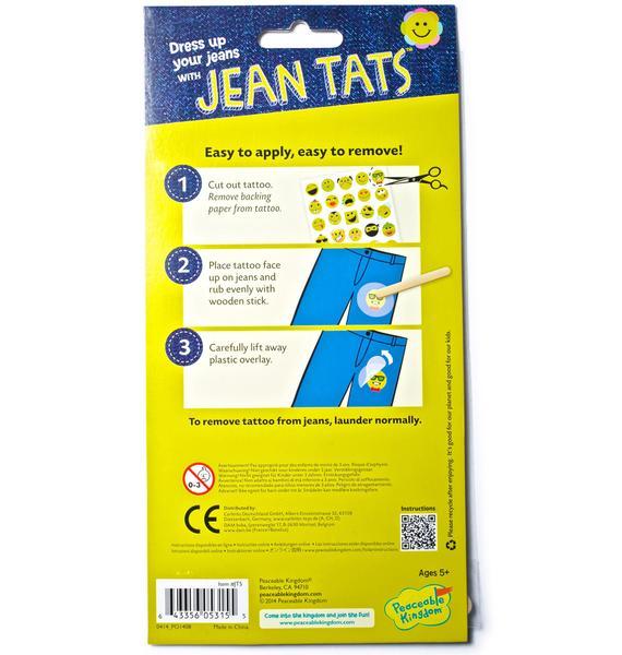 Funny Faces Jean Tats