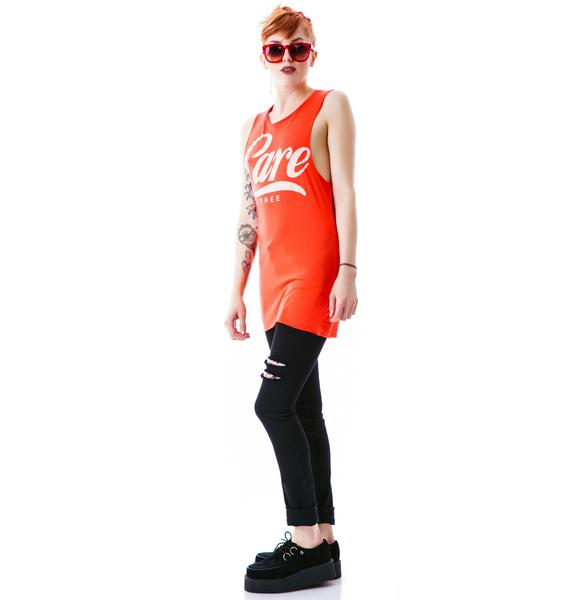 Zoe Karssen Care Free Sleeveless Tee