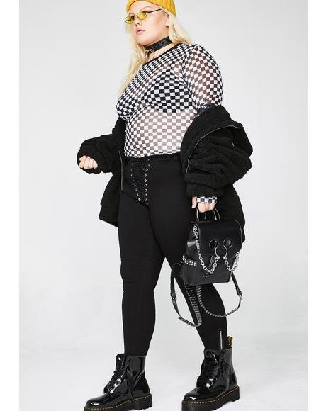 Bad Mannerz Lace-Up Pants