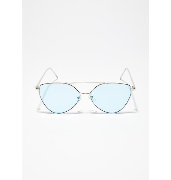 So Complicated Aviator Sunglasses