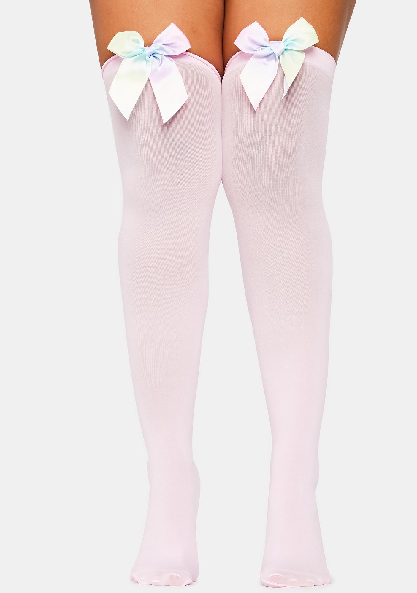 Sweet Thing Thigh High Socks