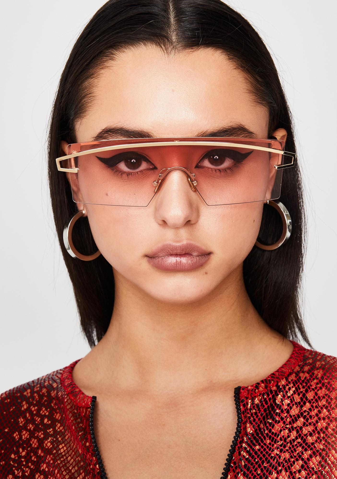 Candy Galactic Glow Shield Sunglasses