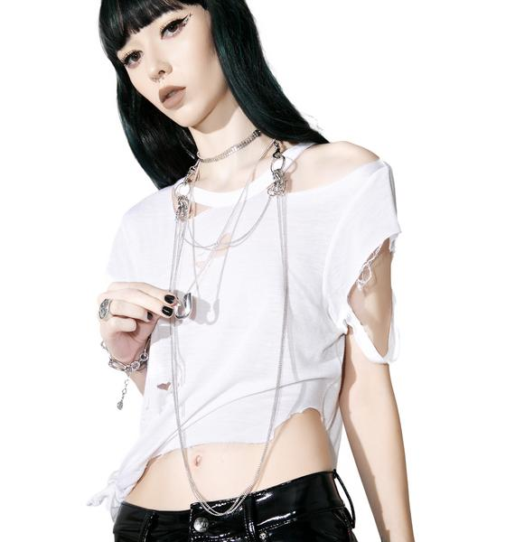 Cheap Monday Pin Necklace