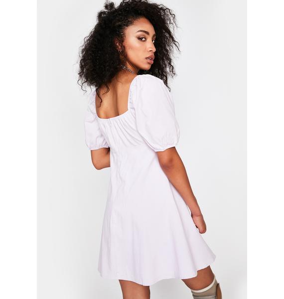 Lilac Life Is Good Mini Dress