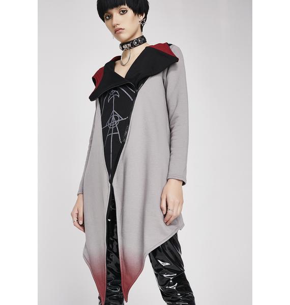 Rogue + Wolf Moon Ritual Oversized Hood Cardigan