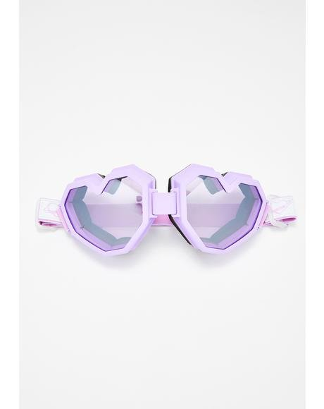 Purple Heart Goggles