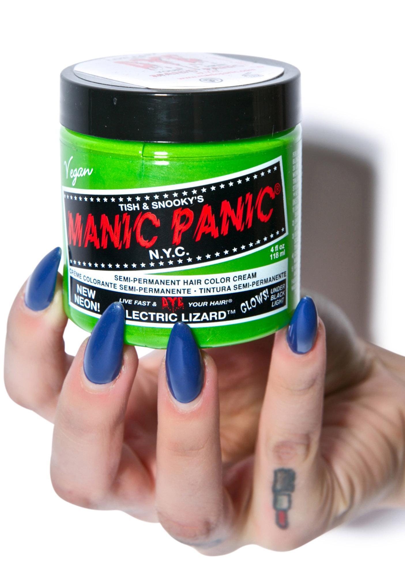 Manic Panic Electric Lizard Classic Hair Dye | Dolls Kill