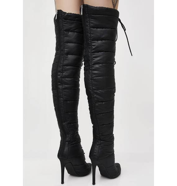 Street Cred Over The Knee Boots