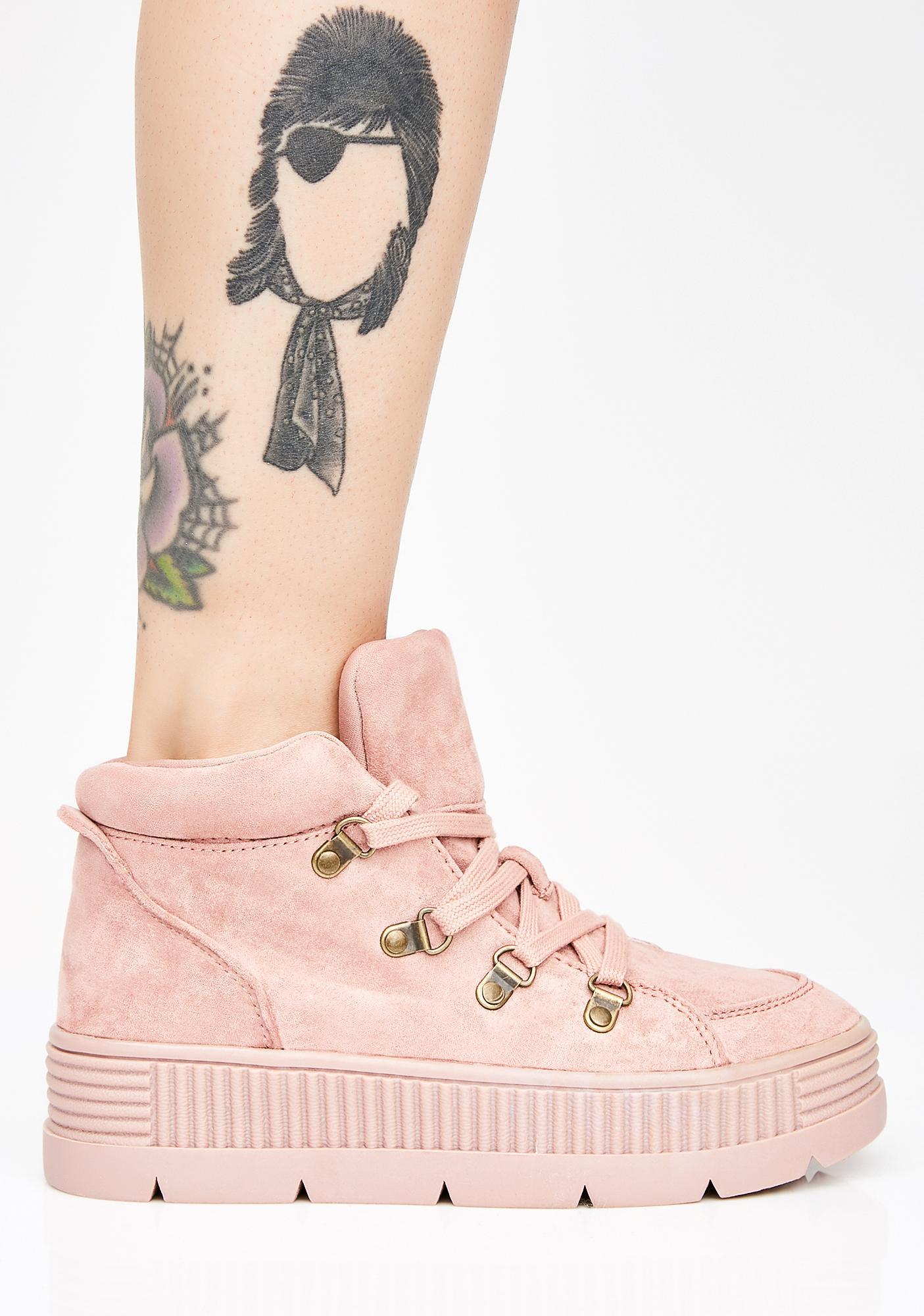 Miss So Called Angels Platform Sneakers
