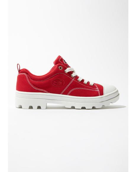 Red Roadies True Roots Sneakers