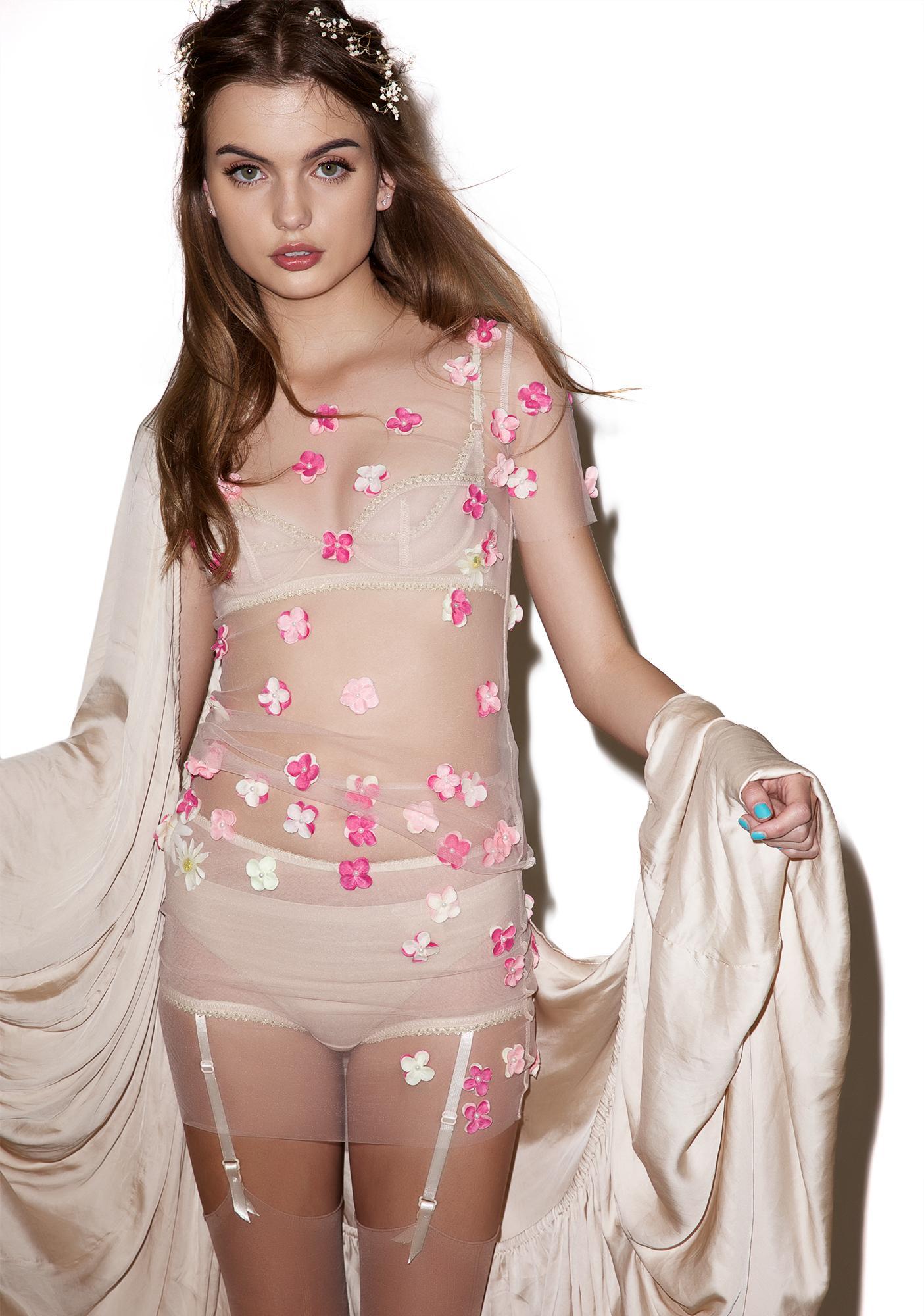 Fete Champetre Flower Bomb Skirt