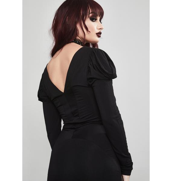 Widow Say Goodnight Mini Dress