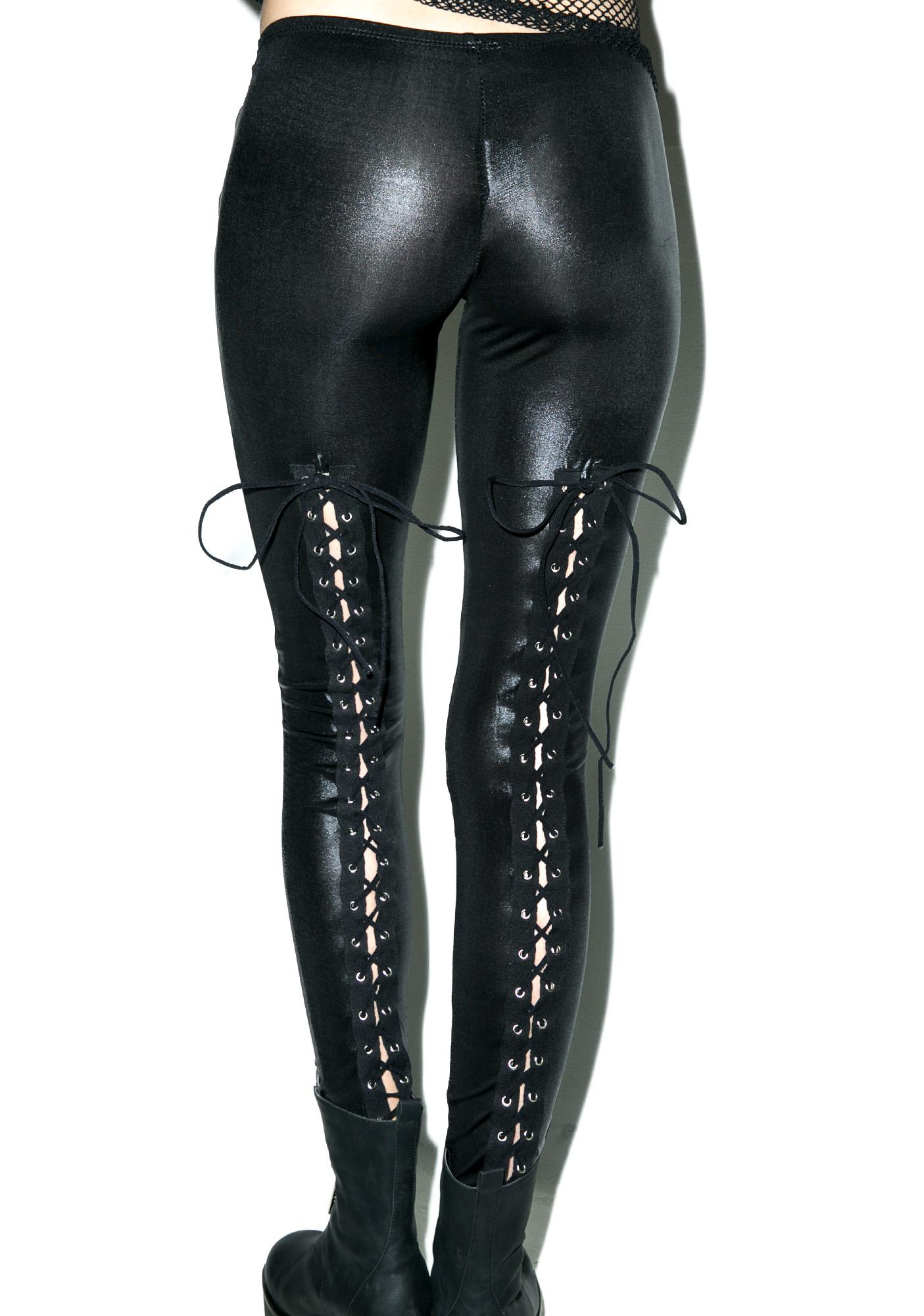 Laced Up Lethal Leggings