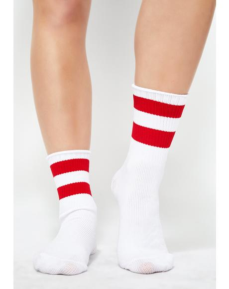Put It In Sport Stripe Socks