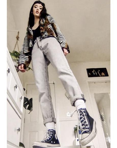 Stone Broke 501 Skinny Jeans