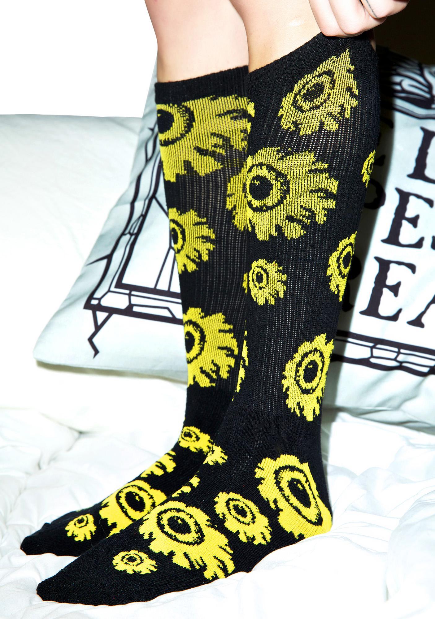 Mishka Keep Watch Socks