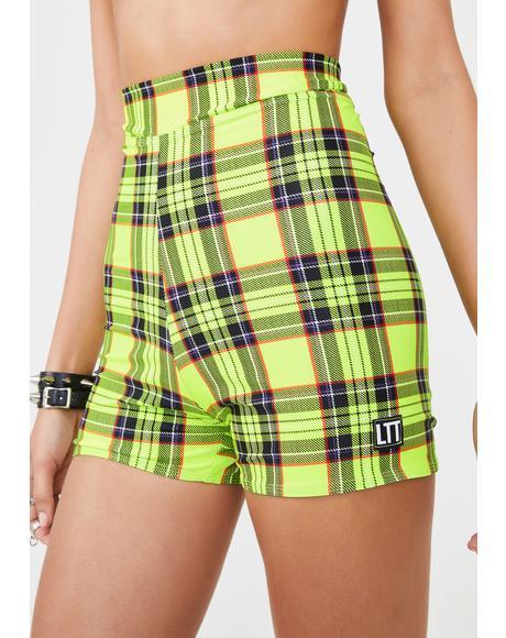 Betty Plaid Shorts