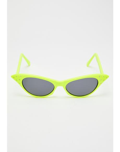 BLAM! Cat Eye Sunglasses